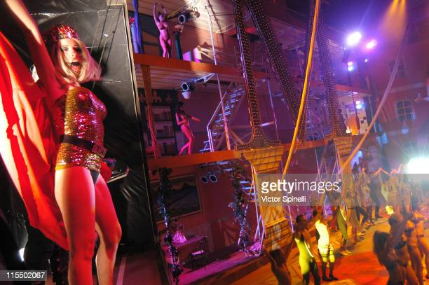 Ju Ju Babies performing during the finale during Manumission Week 5 The Largest Party in the World at Privilege in Ibiza Spain