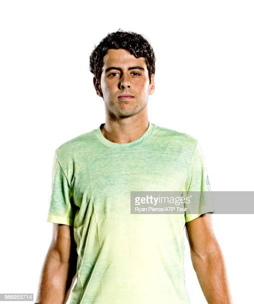 Juame Munar of Spain poses for portraits during the Australian Open at Melbourne Park on January 14 2018 in Melbourne Australia