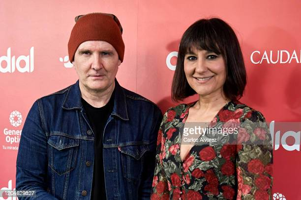 Juan Aguirre and Eva Amaral 'Amaral' attend 24th Cadena Dial awards press conference at Cadena Dial on February 07 2020 in Madrid Spain