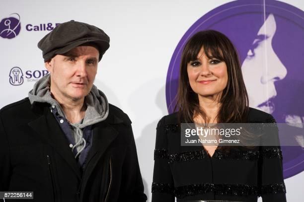 Juan Aguirre and Eva Amaral attend 'Mi Querida Cecilia' photocall at Palacio Municipal de Congresos on November 9 2017 in Madrid Spain