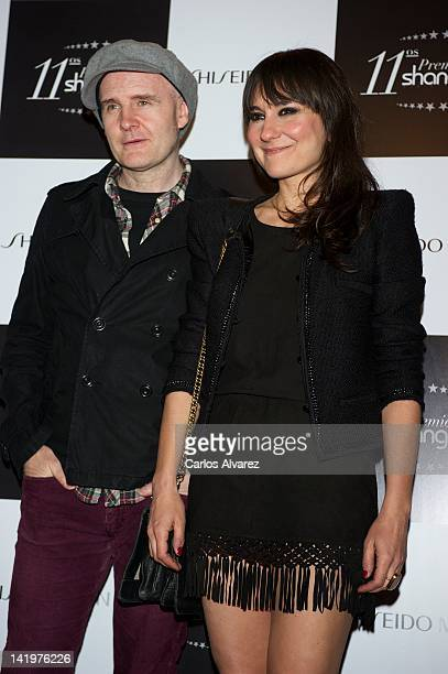 Juan Aguirre and Eva Amaral attend Shangay awards 2012 at Calderon Theater on March 27 2012 in Madrid Spain