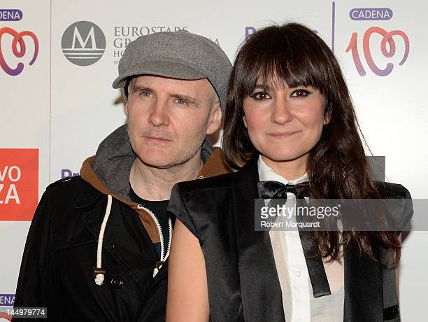 Juan Aguirre and Eva Amaral attend the 'Cadena 100 Number 1 Awards 2012' at the Hotel Gran Marina on May 21 2012 in Barcelona Spain