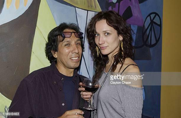 Juan Alejandro Ramirez director of Solo un Cargador and Ana Asensio of Late Bloomer