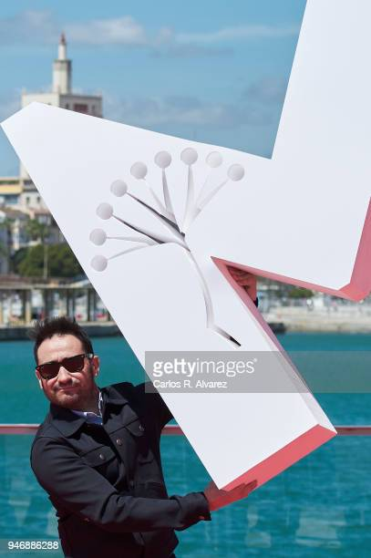 Juan Antonio Bayona attends 'I Hate New York' photocall during the 21th Malaga Film Festival on April 16 2018 in Malaga Spain