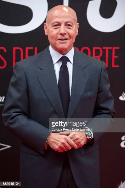 Juan Antonio Corbalan attends the 'As del Deporte' and 'As' sports newspaper 50th anniversary dinner at the Palacio de Cibeles on December 4 2017 in...