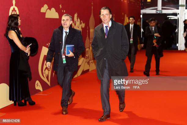 Juan Antonio Pizzi Manager of Saudi Arabia arrives for the Final Draw for the 2018 FIFA World Cup Russia at the State Kremlin Palace on December 1...
