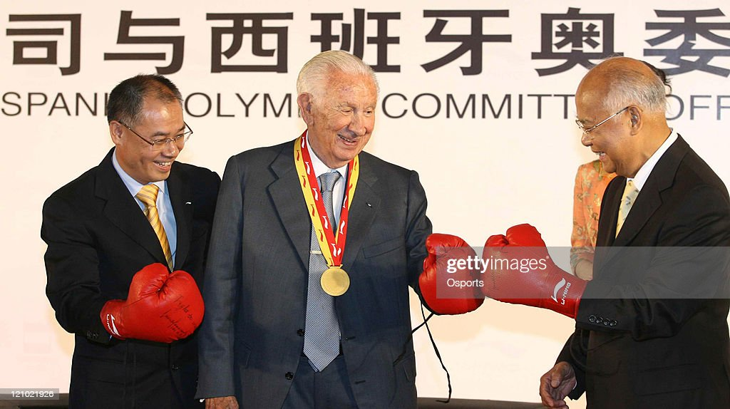 2008 Beijing Olympics - Spanish Olympic Team Signs Deal with Li-Ning - June 25, 2007