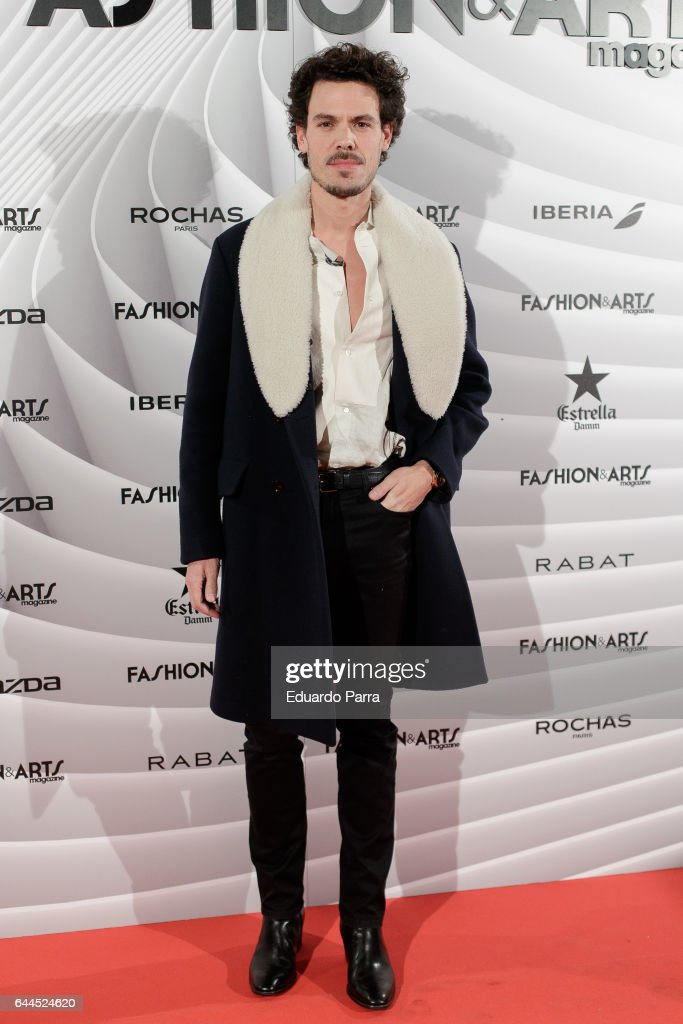 Juan Avellaneda attends the 'Fashion & arts' photocall at Reina Sofia museum on February 23, 2017 in Madrid, Spain.