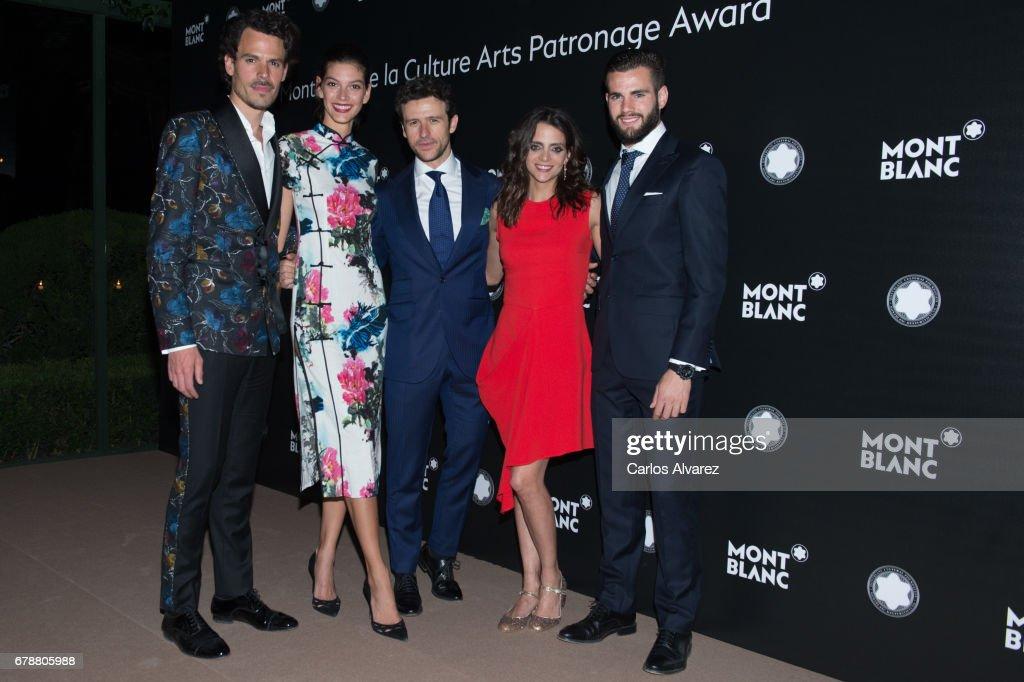 Montblanc De La Culture Arts Patronage Award At The Madrid Palacio Liria - Photocall