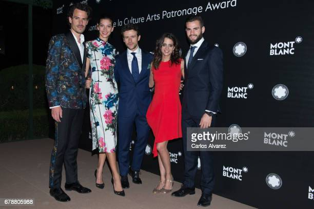 Juan Avellaneda Marta Ortiz Diego Martin Macarena Gomez and Nacho Fernandez attend Montblanc de la Culture Arts Patronage Award at the Madrid Palacio...