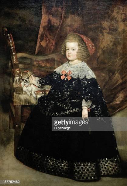 Juan Bautista Martinez del Mazo's Maria Theresa Infanta of Spain 1643
