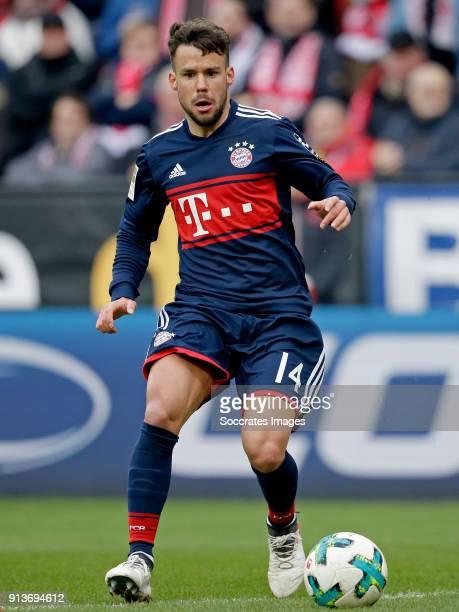 Juan Bernat of Bayern Munchen during the German Bundesliga match between FSV Mainz v Bayern Munchen at the Opel Arena on February 3 2018 in Mainz...