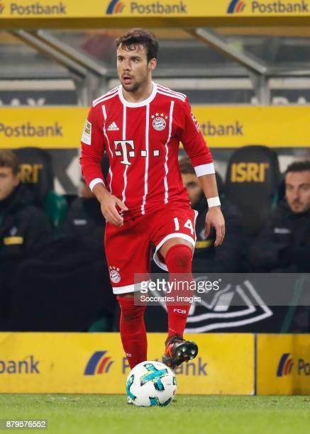 Juan Bernat of Bayern Munchen during the German Bundesliga match between Borussia Monchengladbach v Bayern Munchen at the Borussia Park on November...