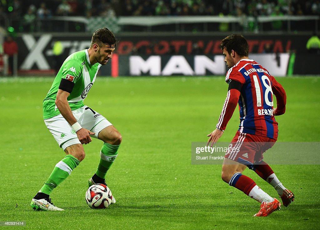 VfL Wolfsburg v FC Bayern Muenchen - Bundesliga : News Photo