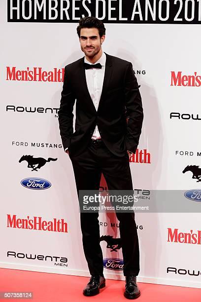 Juan Betancourt attends Men's Health 2016 Awards on January 28 2016 in Madrid Spain