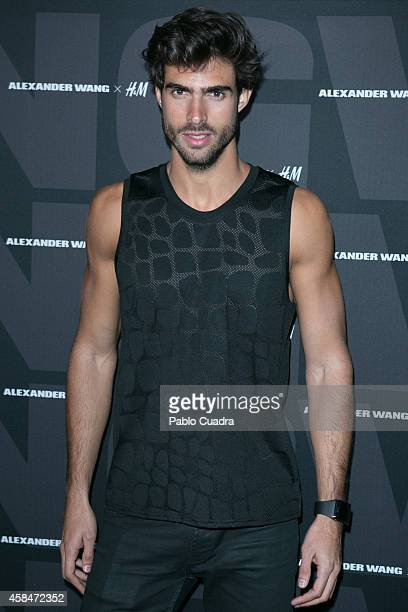 Juan Betancourt attends the Alexander Wang X HM Party at 'But' Club on November 5 2014 in Madrid Spain