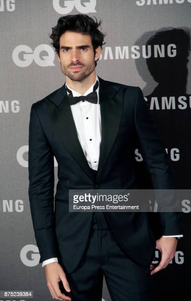 Juan Betancourt attends the GQ Men of the Year Awards 2017 at Palace hotel on November 16 2017 in Madrid Spain