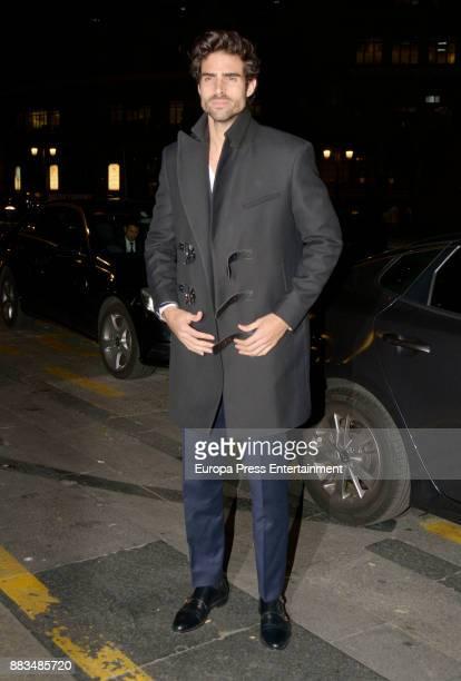 Juan Betancourt attends the 'Harper's Bazaar' Actitud 43 awards at Casino de Madrid on November 30 2017 in Madrid Spain