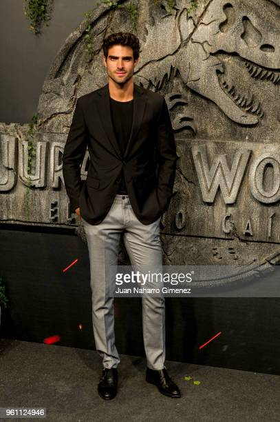Juan Betancourt attends the 'Jurassic World Fallen Kindom' premiere at Wizink Center on May 21 2018 in Madrid Spain