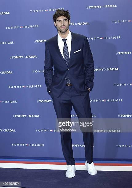 Juan Betancourt attends the presentation of Rafel Nadal as Tommy Hilfiger Global Ambassador at the Palacio de Cibeles on December 1 2015 in Madrid...