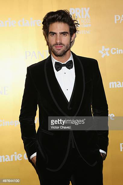 Juan Betancourt attends the Prix De La Mode Marie Claire at Hotel Hyatt Campos Eliseos on November 17 2015 in Mexico City Mexico