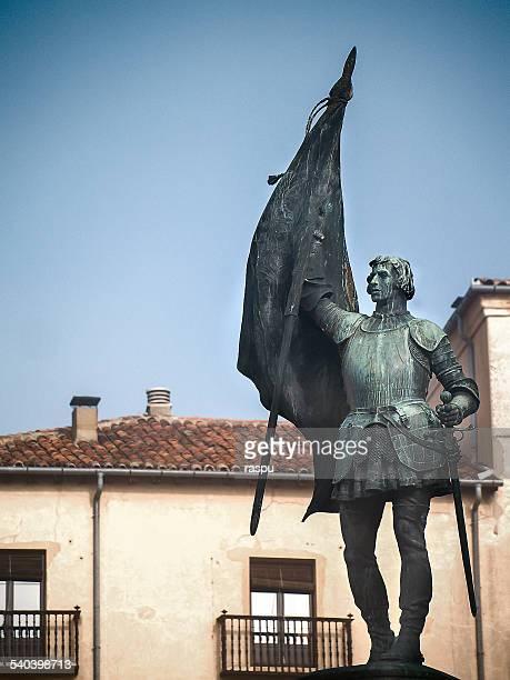 juan bravo, a national heroe - カスティーリャレオン ストックフォトと画像