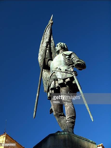 juan bravo a spanish heroe - カスティーリャレオン ストックフォトと画像