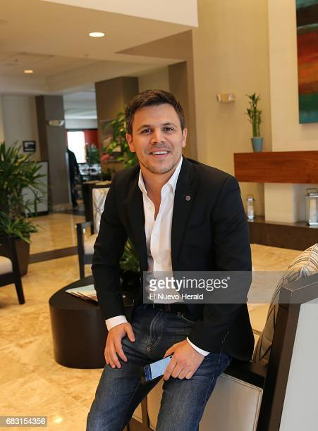 Juan Carlos Abello developer of the Nuvola app His company is geared to both employees of and guests of hotels on April 20 in Doral Fla