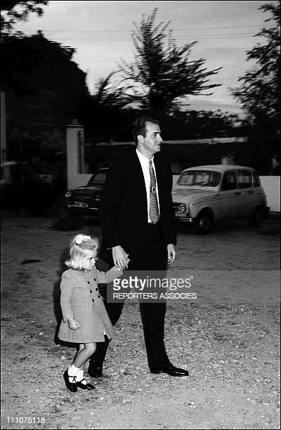 Juan Carlos and family in Spain on November 06th 1968