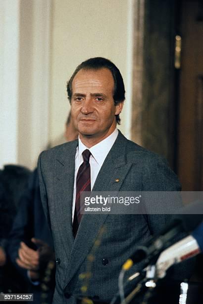 Juan Carlos I * der König von Spanien in berlin 1986