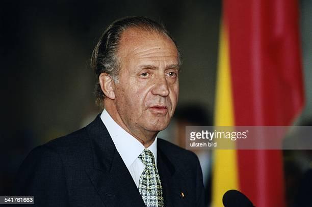 Juan Carlos I. *-Don Juan Carlos de Borbon y BorbonKönig von Spanien seit 1975- Porträt- Juli 1997