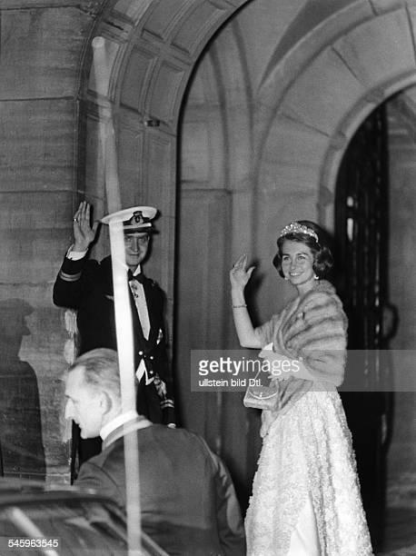 Juan Carlos I *König von Spanien 1975Juan Carlos und Sophie bei der Hochzeitder holländischen Kronprinzessin Beatrixmit Claus von AmsbergMärz 1966