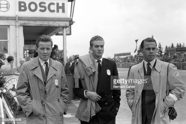 Juan Carlos King of Spain , Grand Prix of Germany, Nurburgring, 05 August 1956. Juan Carlos King of Spain visiting the 1956 German Grand Prix.