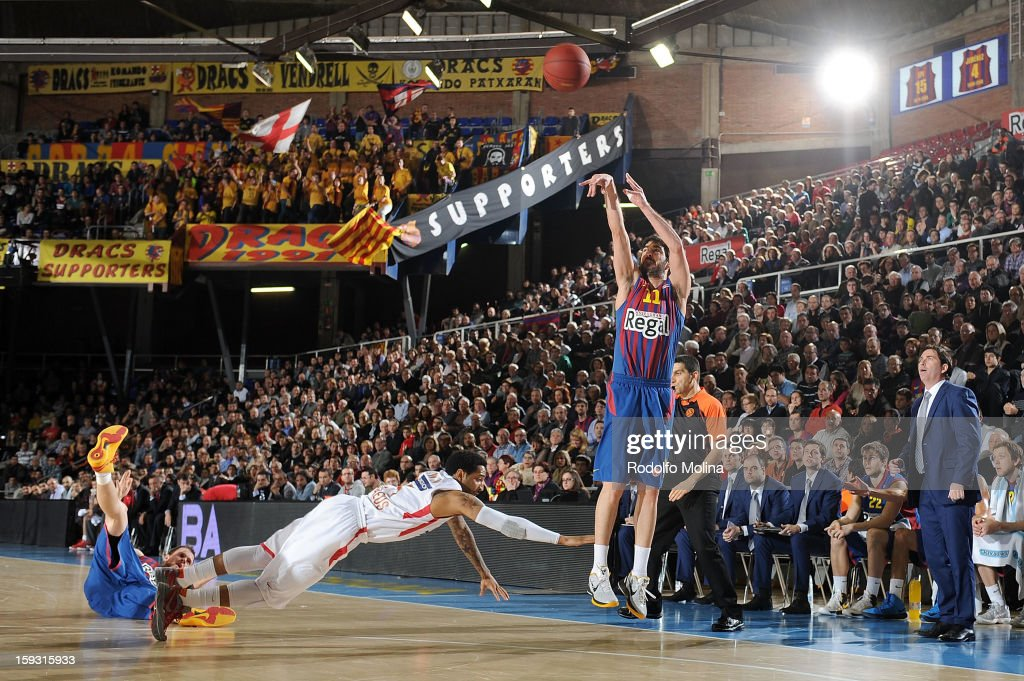 FC Barcelona Regal v Olympiacos Piraeus - Turkish Airlines Euroleague