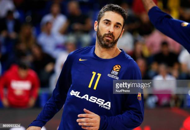 Juan Carlos Navarro during the match between FC Barcelona v Olympiakos BC corresponding to the week 5 of the basketball Euroleaguein Barcelona on...