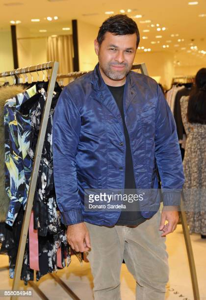 Juan Carlos Obando attend a Cocktail Event in support of HOLA Heart of Los Angeles hosted by Barneys New York at Barneys New York Beverly Hills on...