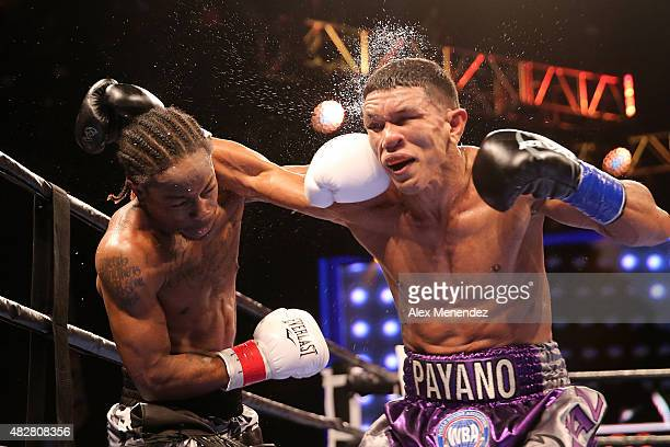 Juan Carlos Payano fights against Rau'shee Warren during the Premier Boxing Champions on Bounce TV boxing match at Full Sail University Ebbs...