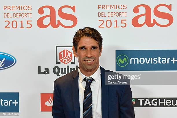 Juan Carlos Valeron attends the 2015 'AS Del Deporte' Awards at The Westin Palace Hotel on December 14 2015 in Madrid Spain