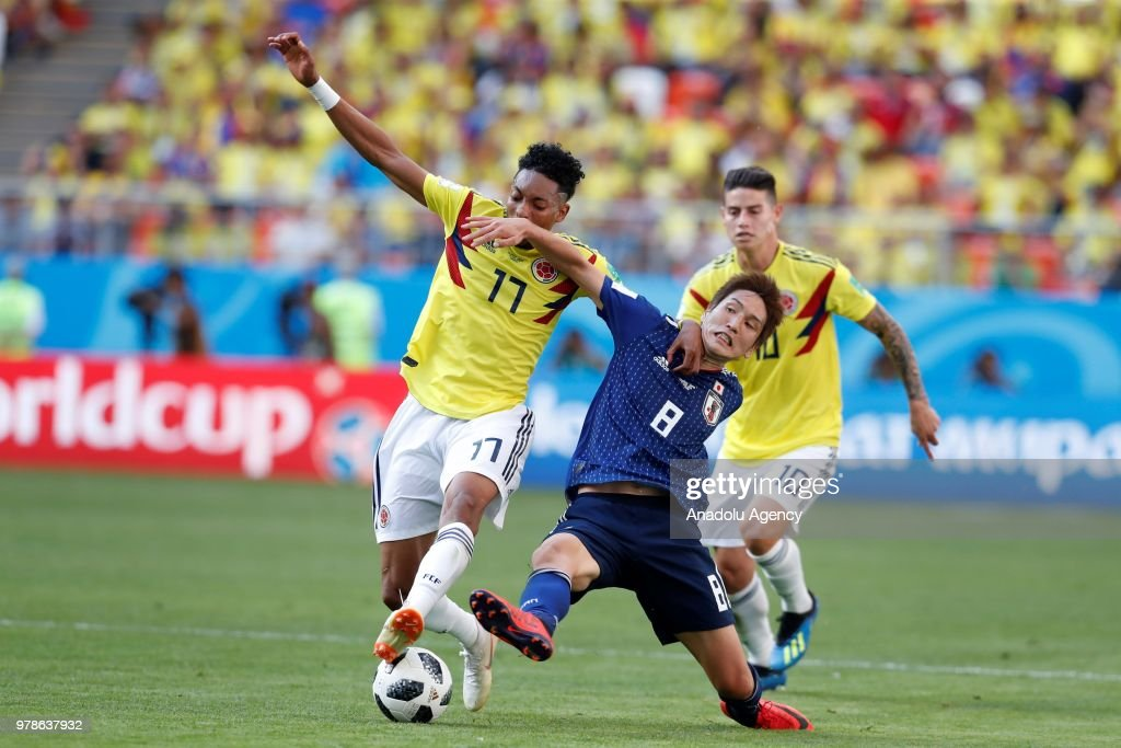 Colombia v Japan : Group H  - 2018 FIFA World Cup Russia : ニュース写真