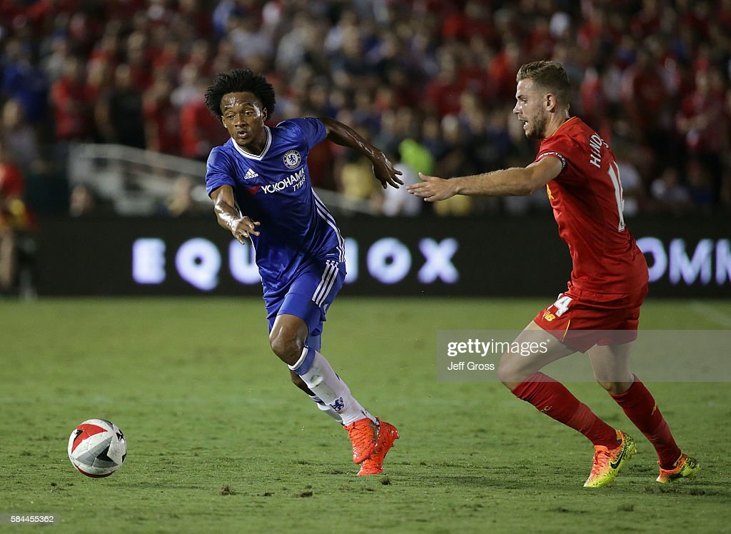 International Champions Cup 2016 - Chelsea v Liverpool : News Photo