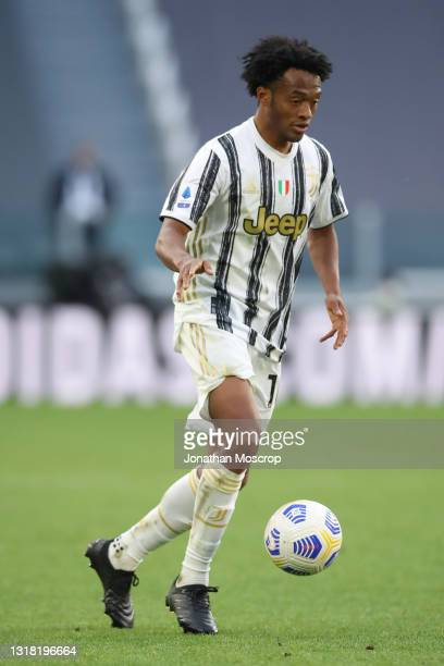 Juan Cuadrado of Juventus during the Serie A match between Juventus and FC Internazionale at Allianz Stadium on May 15, 2021 in Turin, Italy....