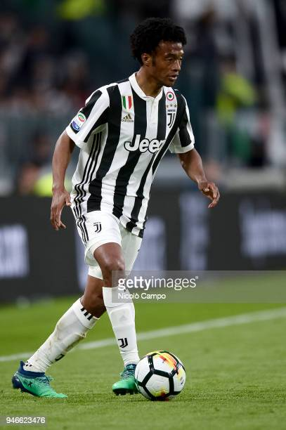 Juan Cuadrado of Juventus FC in action during the Serie A football match between Juventus FC and UC Sampdoria Juventus FC won 30 over UC Sampdoria