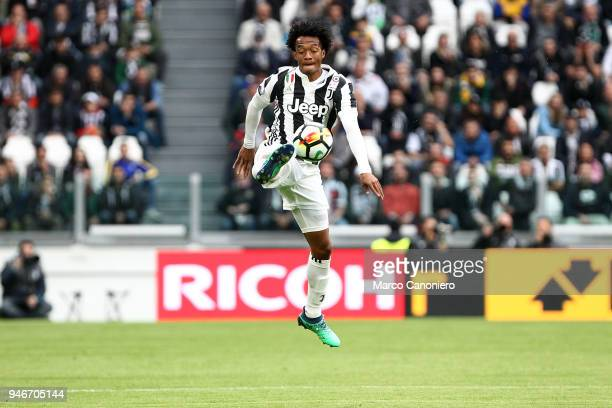 Juan Cuadrado of Juventus FC in action during the Serie A football match between Juventus FC and Uc Sampdoria Juventus Fc wins 30 over Uc Sampdoria