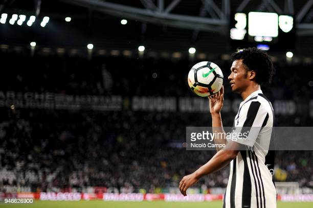 Juan Cuadrado of Juventus FC looks on during the Serie A football match between Juventus FC and UC Sampdoria Juventus FC won 30 over UC Sampdoria