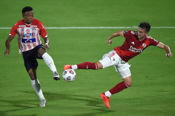 COL: Junior v River Plate - Copa CONMEBOL Libertadores 2021