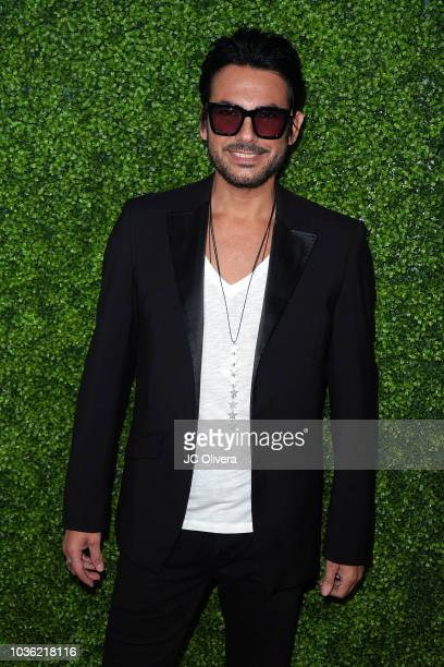 Juan De Dios Martin attends The Latin Recording Academy Los Angeles Acoustic Session with Beto Cuevas and Pablo Alboran at The Novo by Microsoft on...
