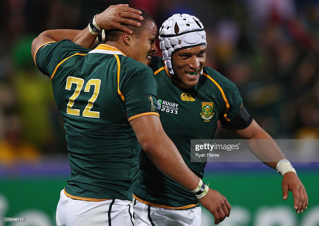 South Africa v Namibia - IRB RWC 2011 Match 22