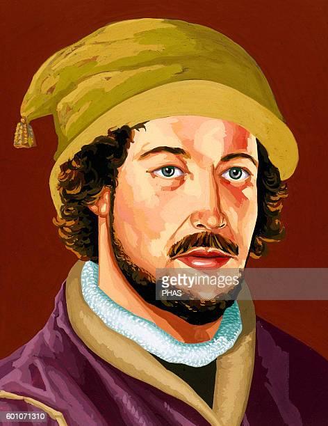 Juan de la Cosa Spanish navigator and cartographer Portrait
