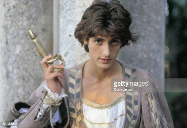 Juan Diego Botto actor During the shooting of Gerardo Vera´s movie 'La Celestina'