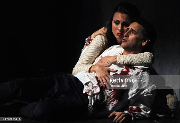 Juan Diego Florez as Werther and Isabel Leonard as Charlotte in The Royal Opera's production of Jules Masenet's Werther directed by Benoit Jacquot...